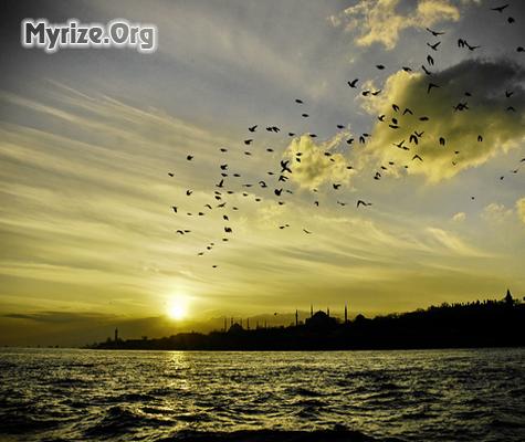 İstanbul gün batımı