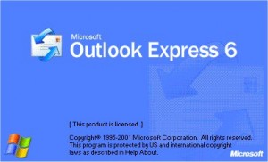 Outlook Express Splash